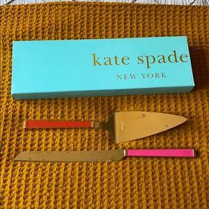 Kate Spade Juno Drive 2-piece Dessert Set